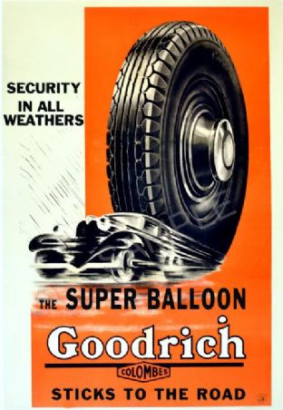 Retro Goodrich Tyres Advert